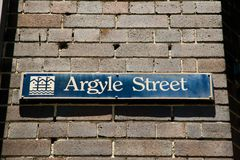 Οδός Argyle - Σίδνεϊ - Αυστραλία Στοκ εικόνα με δικαίωμα ελεύθερης χρήσης