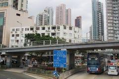 Οδός Argyle στην πόλη kowloon Στοκ φωτογραφίες με δικαίωμα ελεύθερης χρήσης