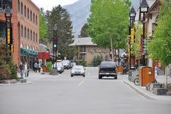 Οδός Banff Στοκ Εικόνες