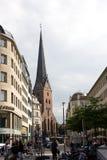 Οδός Bergstrasse Αμβούργο Στοκ Φωτογραφία