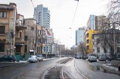 Οδός Calinescu Armand Στοκ εικόνες με δικαίωμα ελεύθερης χρήσης