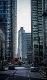 Οδός Canary Wharf Στοκ Φωτογραφίες