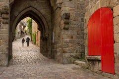 Οδός Dinan Στοκ εικόνα με δικαίωμα ελεύθερης χρήσης