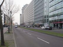Οδός Ebertstrasse, Βερολίνο Στοκ Εικόνα
