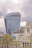 20 οδός Fenchurch, aka Walkie-Talkie, Λονδίνο στοκ εικόνα με δικαίωμα ελεύθερης χρήσης