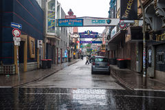 Οδός Freiheit Grosse στο Αμβούργο Στοκ φωτογραφία με δικαίωμα ελεύθερης χρήσης