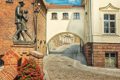 Οδός Grudziadz Στοκ εικόνες με δικαίωμα ελεύθερης χρήσης