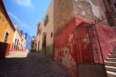 Οδός Guanajuato Στοκ φωτογραφία με δικαίωμα ελεύθερης χρήσης