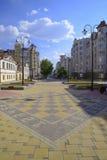 Οδός Krasnoarmeyskaya στην πόλη Yekaterinburg Στοκ φωτογραφία με δικαίωμα ελεύθερης χρήσης