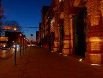 Οδός Ogrodowa Στοκ εικόνα με δικαίωμα ελεύθερης χρήσης