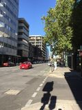 Οδός Pirie, Αδελαΐδα, Αυστραλία Στοκ Φωτογραφίες
