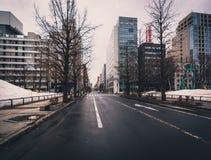 Οδός Sapporo Στοκ Εικόνες