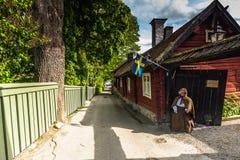 Οδός Sigtuna, Σουηδία Στοκ Φωτογραφίες