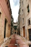 Οδός Tarragona Ισπανία Στοκ φωτογραφίες με δικαίωμα ελεύθερης χρήσης
