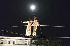 Οδός Theater Underclouds Company Στοκ φωτογραφίες με δικαίωμα ελεύθερης χρήσης