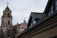 Οδός Vilnius Στοκ Εικόνες