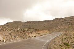 Οδόστρωμα κοντά σε Arequipa Στοκ εικόνες με δικαίωμα ελεύθερης χρήσης