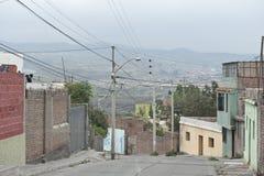 Οδόστρωμα Arequipa Στοκ φωτογραφίες με δικαίωμα ελεύθερης χρήσης