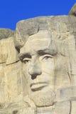 Ο Abraham Lincoln, τοποθετεί το εθνικό μνημείο Rushmore κοντά στη γρήγορη πόλη, νότια Ντακότα Στοκ φωτογραφία με δικαίωμα ελεύθερης χρήσης