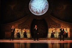 Ο Alan Thwaites και η Clancy είναι αδελφοί-Ο ιρλανδικός εθνικός χορός βρυσών χορού Στοκ Εικόνα