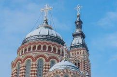 Ο Annunciation καθεδρικός ναός σε Kharkiv Ουκρανία Στοκ Φωτογραφία