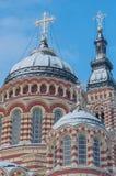 Ο Annunciation καθεδρικός ναός σε Kharkiv Ουκρανία Στοκ εικόνες με δικαίωμα ελεύθερης χρήσης