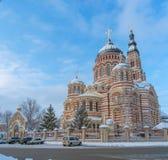 Ο Annunciation καθεδρικός ναός σε Kharkiv Ουκρανία Στοκ εικόνα με δικαίωμα ελεύθερης χρήσης