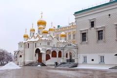 Ο Annunciation καθεδρικός ναός στη Μόσχα Στοκ Εικόνα