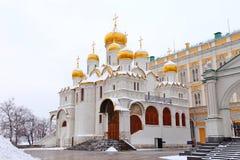 Ο Annunciation καθεδρικός ναός στη Μόσχα Στοκ Εικόνες