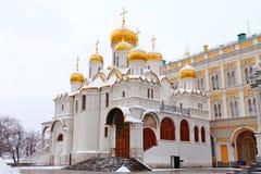 Ο Annunciation καθεδρικός ναός στη Μόσχα Στοκ φωτογραφία με δικαίωμα ελεύθερης χρήσης