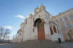 Ο Annunciation καθεδρικός ναός, Μόσχα Κρεμλίνο Στοκ εικόνα με δικαίωμα ελεύθερης χρήσης