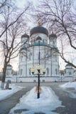 Ο Annunciation καθεδρικός ναός - ο ναός του Ρώσου ορθόδοξου Στοκ φωτογραφίες με δικαίωμα ελεύθερης χρήσης