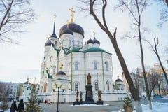 Ο Annunciation καθεδρικός ναός - ο ναός του Ρώσου ορθόδοξου Στοκ Εικόνες