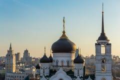 Ο Annunciation καθεδρικός ναός στο κέντρο της πόλης Voronezh, Ρωσία Στοκ φωτογραφία με δικαίωμα ελεύθερης χρήσης