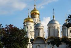 Ο Annunciation καθεδρικός ναός στο Κρεμλίνο, Μόσχα Στοκ φωτογραφία με δικαίωμα ελεύθερης χρήσης