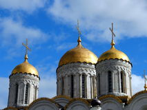 Ο Annunciation καθεδρικός ναός στο Κρεμλίνο, Μόσχα Στοκ Εικόνες