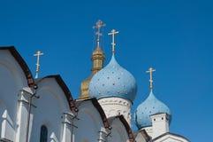 Ο Annunciation καθεδρικός ναός στο Κρεμλίνο. Kazan. Ρωσία Στοκ Εικόνες