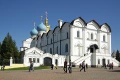 Ο Annunciation καθεδρικός ναός Kazan Κρεμλίνο Στοκ εικόνες με δικαίωμα ελεύθερης χρήσης