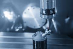 Ο CMM έλεγχος συνδέει με το CNC άξονα μηχανών στοκ φωτογραφίες