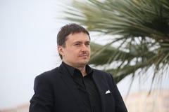 Ο Cristian Mungiu παρευρίσκεται στην κριτική επιτροπή Cinefondation Στοκ Εικόνα