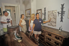 Ο Ernest Hemingway Home και μουσείο, Key West, Φλώριδα στοκ εικόνες