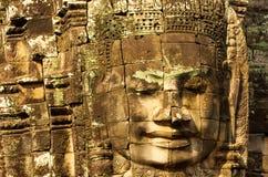 Ο Khmer ναός Bayon, Angkor Thom, Siem συγκεντρώνει, Καμπότζη Στοκ Φωτογραφία