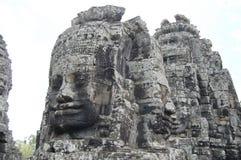 Ο Khmer ναός Bayon Prasat σε Angkor σε Siem συγκεντρώνει την Καμπότζη Στοκ Εικόνες