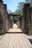 Ο Khmer ναός Bayon Prasat σε Angkor σε Siem συγκεντρώνει την Καμπότζη Στοκ Φωτογραφία