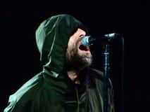 Ο Liam Gallagher αποδίδει στη συναυλία σε Fabrique στο Μιλάνο, Ιταλία στις 26 Φεβρουαρίου 2018 στοκ εικόνες με δικαίωμα ελεύθερης χρήσης