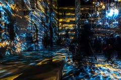 16ο mart 2018 Φεστιβάλ του Ζάγκρεμπ, Κροατία †«του φωτός στο Ζάγκρεμπ στοκ φωτογραφίες με δικαίωμα ελεύθερης χρήσης