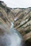 Ο misty ποταμός Στοκ Φωτογραφίες