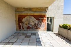 Ο Pablo Picasson χρωμάτισε μια εντυπωσιακή τοιχογραφία Στοκ Φωτογραφίες