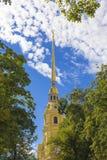 Ο Peter και ο καθεδρικός ναός του Paul στο Peter και το φρούριο του Paul ST Pete Στοκ φωτογραφίες με δικαίωμα ελεύθερης χρήσης