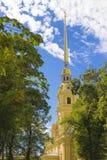 Ο Peter και ο καθεδρικός ναός του Paul στο Peter και το φρούριο του Paul ST Pete Στοκ Φωτογραφία